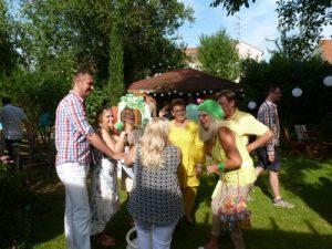 Party Spaßmacher mit Unterhaltungskünstlerin Astrid Haentsch
