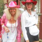 Walk Act Astrid Haentsch mit Irmgard Knüppel